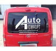 Заднее стекло (ляда) с электрообогревом и отверстием на автомобиль Opel Combo C (2001–2011) (Опель Комбо C (2001–2011)