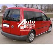 Задний салон, правое окно (внахлёст) на автомобиль VW Caddy 04- (Фольксваген Кадди 04-)
