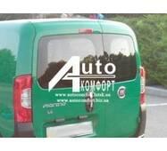 Заднє скло (сорочечка ліва) Fiat Fiorino, Citroеn Nemo, Peugeot Bipper (Фиат Фиорино, Ситроен Німо, Пежо Биппер)