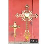 Крест накупольный № 015