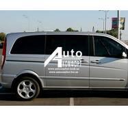 Передній салон, праве скло на автомобіль Mercedes - Benz Vito 04 - (Мерседес Вито 04-)