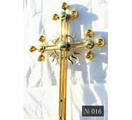 Крест накупольный № 016