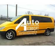 Задний салон, левое стекло, длинная база (extra long) на автомобиль Mercedes-Benz Vito 04- (Мерседес Вито 04-)