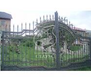 Ворота ручной ковки