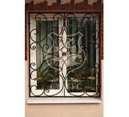 Решітки на вікна фігурної ковки