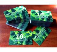 Пластиковые карты 86*54 мм