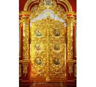 Іконостас позолочений, царські ворота