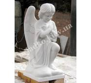 Скульптура мраморного ангела