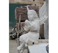 Гіпсова модель янгола для пам'ятника