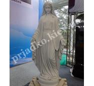 Статуя Богородицы из мрамора
