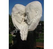 Мраморная скульптура для двоих