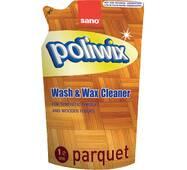 Средство для мытья пола с паркетом или ламинатом Sano Poliwix Parquet Wash & Wax cleaner 1 л.