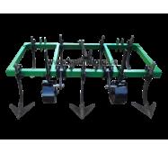 Культиватор для міні-трактора КН-1,6 суцільної обробки