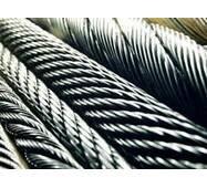 Канат з нержавіючої сталі  ДІНІВ 3055 (ГОСТ 3066-80) 0,54 мм,  Конструкція 7х7