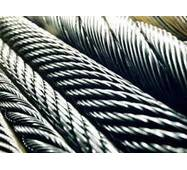 Канат з нержавіючої сталі  ДІНІВ 3055 (ГОСТ 3066-80) 1,25 мм,  Конструкція 7х7