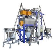Комплекс для автоматичного зважування, дозування і змішування сипучих компонентів