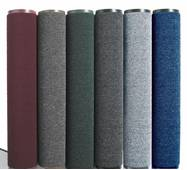 Грязезещитные  килимки серії Ламбет.  Avial Полипропиленовый грязезещитный  килимок  в РУЛОНІ ширина 90 см, сірий. 1022531