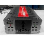 Автоінвертор Power Inverter ELITE lux 12/220v 300 W, перетворювач, інвертор для автомобіля Павер Инвертер Е