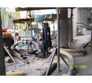 Гидрораспределитель бетонных потоков (Италия)