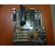 Материнская плата ASUS P2B - S Slot1 с процессором Pentium III