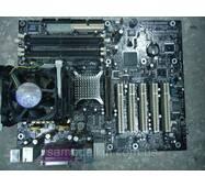 Материнская плата INTEL D865PERL с процессором Pentium 4 3 Ггц S478