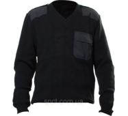 Свитер вязанный, цвет черный 50