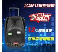Колонка TEMEISHENG A18S з Bluetooth і 2 мікрофонами