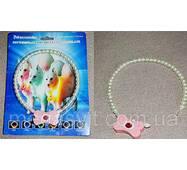 Ожерелье из жемчуга для собак и кошек – Светящийся ошейник