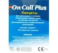 Ланцети універсальні OnCall Plus 100 штук