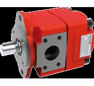 Агрегат с насосом-мотором внутреннего зацепления QXM