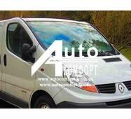 Лобовое стекло на Renault Traffic (Трафик), Opel Vivaro (Виваро), Nissan Primastar (Примастар) (2001-) с датчиком