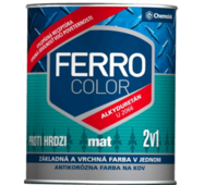 "Краска Chemolak ""Ferro Color"" mat белая 2,5л. RAL 9003"