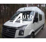 Лобове скло на Mercedes - Benz Sprinter W906 (Мерседес-бенц Спринтер), Volkswagen Crafter (Фольксваген Крафтер) (2006-)