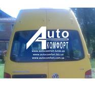 Заднее стекло высокое (распашонка левая) без электрообогрева на Volkswagen Transporter Т-5 (Фольксваген Транспортер T-5)