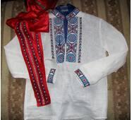 Украинская вышиванка для мальчика на заказ