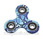 Іграшка - синій камуфляж Finger Spinner (Хенд Спиннер) Антисресс