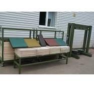 Обладнання для виробництва гумової плитки і гумових підлогових покриттів, купити в Луцьку