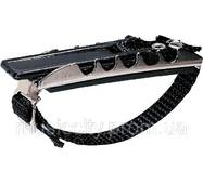 Jim Dunlop 14fd каподастр для акустичної гітари, нікелеве покриття, плоский