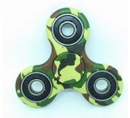 Іграшка - камуфляж Finger Spinner зелений (Хенд Спиннер) Антисресс