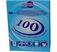 Соляр-М-100 - Гигиенические накладки на унитаз, 100 шт. Солярис Соляр-М-100
