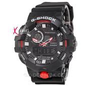 """Чоловічий спортивний годинник """"Casio G - Shock Ga - 100 White - Black""""."""