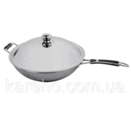 Сковородка индукционная Вок Hendi 239773 Ø360x (H) 180 мм.