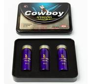 """""""Виагра-Ковбой"""" (Cowboy Strong Viagra) препарат для повышения потенции (10 таблеток)."""