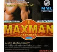 МаксМэн Maxmen III  препарат для підвищення потенції 12 капсул упаковка