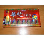 """Препарат для підвищення потенції Доктор Хуато """"Hua tuo sheng jing wan"""" (32 пігулки в упаковці) ."""