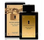 Туалетна вода для чоловіків Antonio Banderas The Golden Secret.