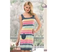 Яркое домашнее платье 15250