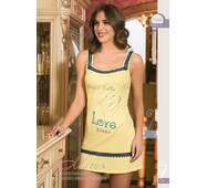 Жовта яскрава домашня сукня 15260