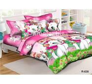 """Комплект постельного белья для девочки """"Ранфорс"""" 318"""