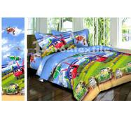 """Комплект постельного белья для мальчика """"Ранфорс"""" 274"""